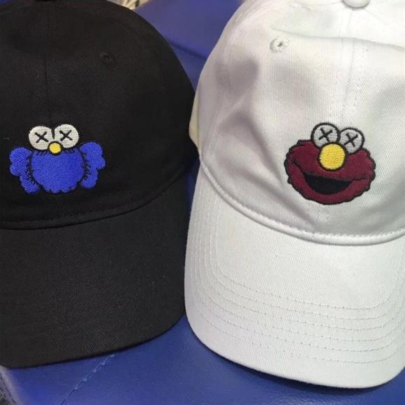 5831759c Uniqlo x KAWS Accessories | Kaws Uniqlo Sesame Street Dad Hat ...